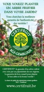 Brochure CERTIFRUIT